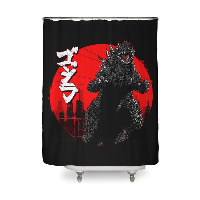 GOJIRA KANJI Home Shower Curtain by silenTOP Artist Shop