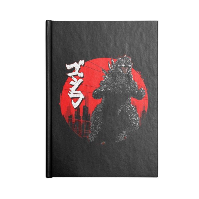 GOJIRA KANJI Accessories Notebook by silenTOP Artist Shop