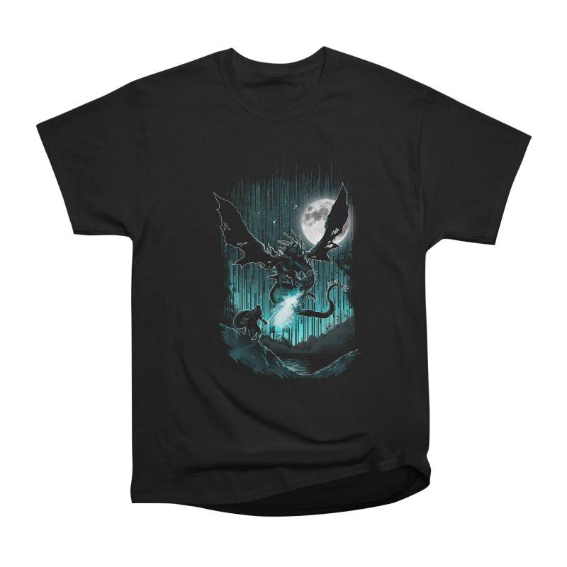 MEET THE MYTH Women's Heavyweight Unisex T-Shirt by silenTOP Artist Shop