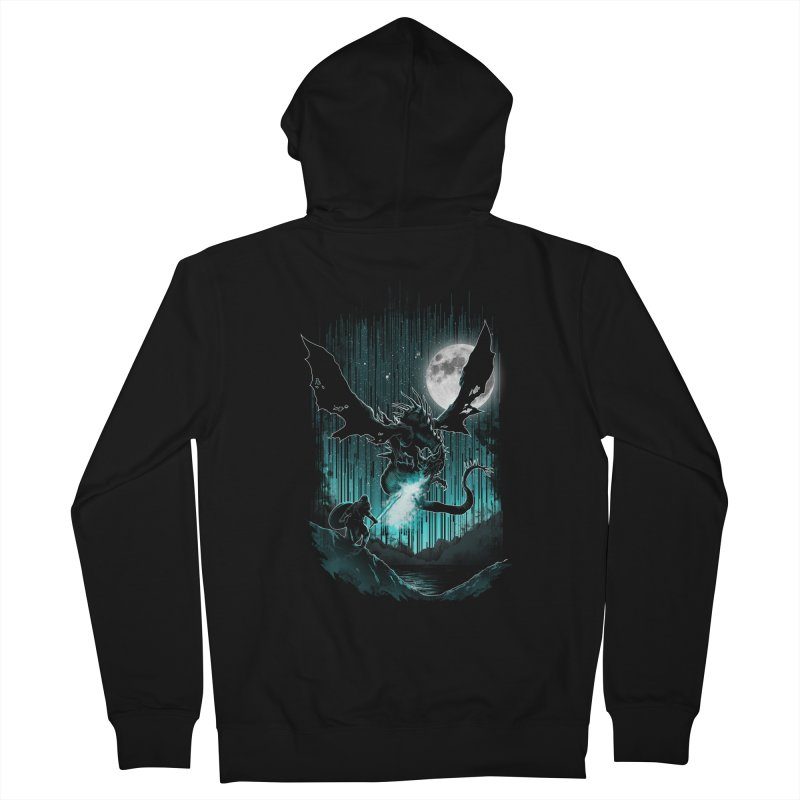 MEET THE MYTH Men's Zip-Up Hoody by silenTOP Artist Shop