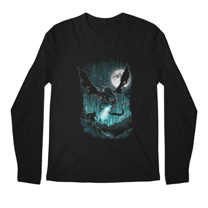 MEET THE MYTH Men's Longsleeve T-Shirt by silenTOP Artist Shop