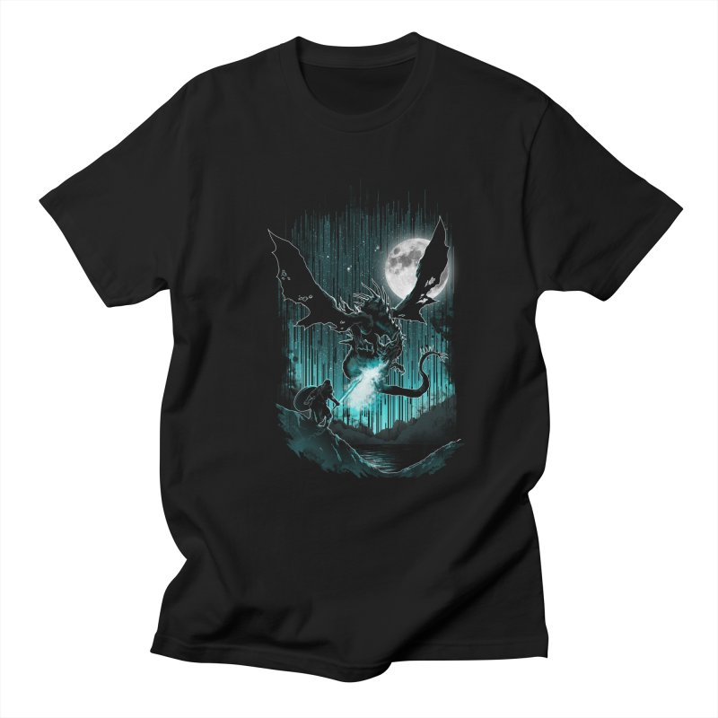MEET THE MYTH Women's Regular Unisex T-Shirt by silenTOP Artist Shop