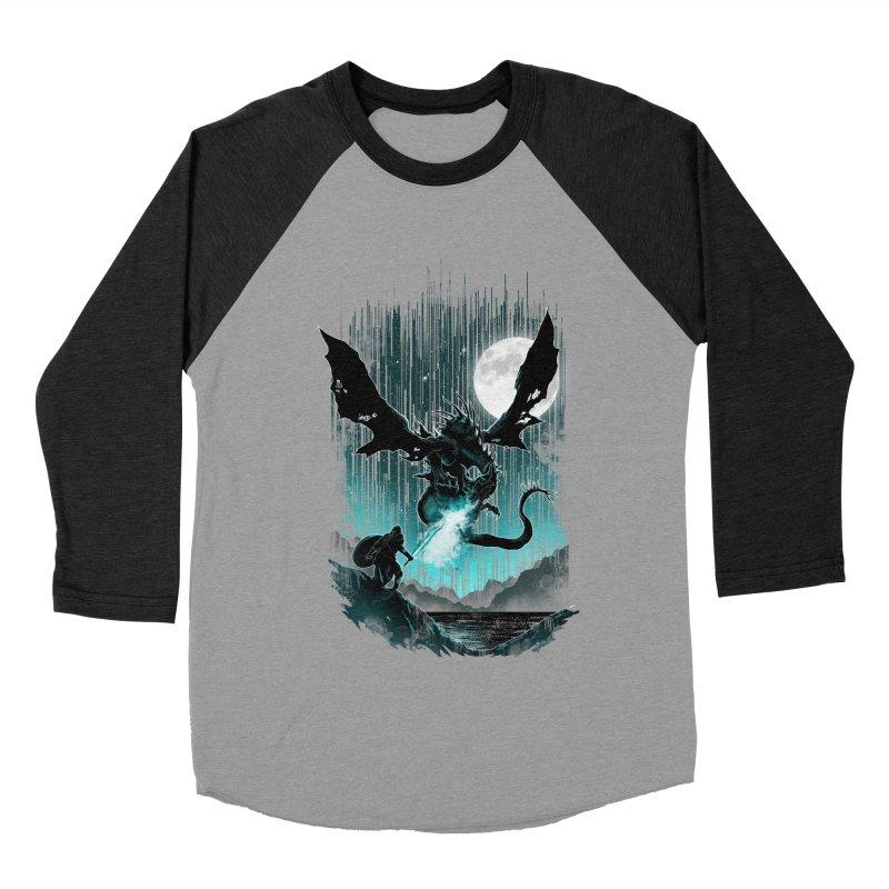 MEET THE MYTH Women's Baseball Triblend T-Shirt by silenTOP Artist Shop