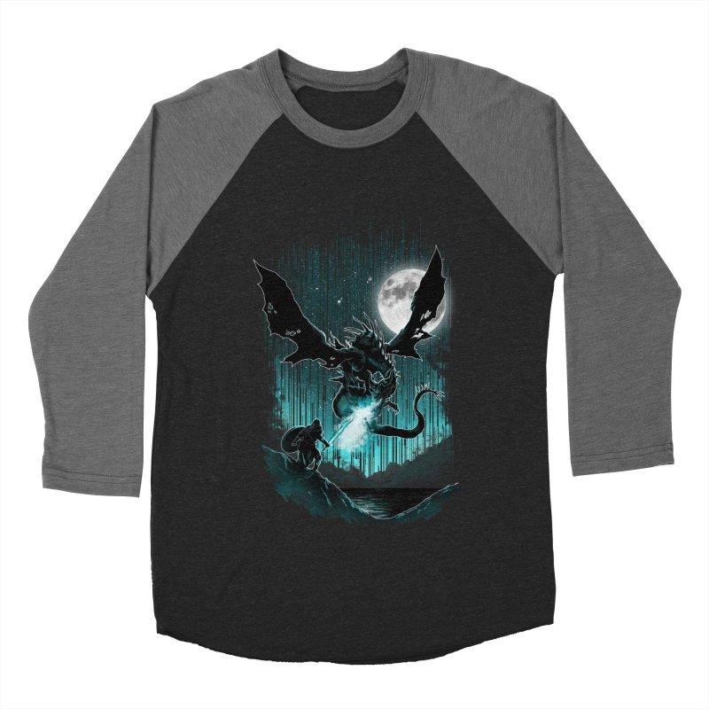 MEET THE MYTH Men's Baseball Triblend T-Shirt by silenTOP Artist Shop