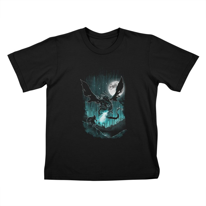 MEET THE MYTH Kids T-Shirt by silenTOP Artist Shop