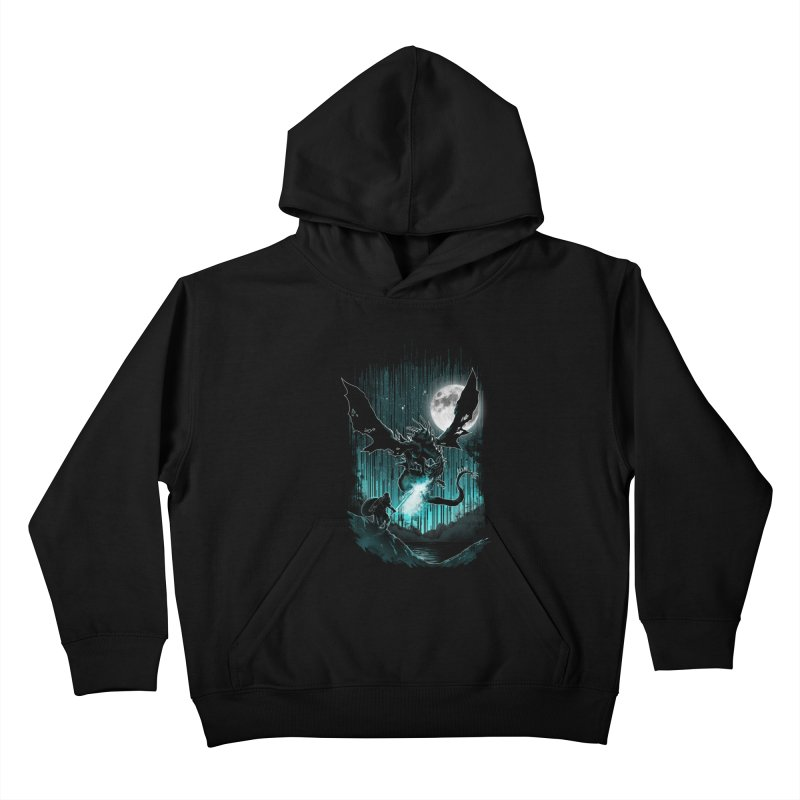 MEET THE MYTH Kids Pullover Hoody by silenTOP Artist Shop