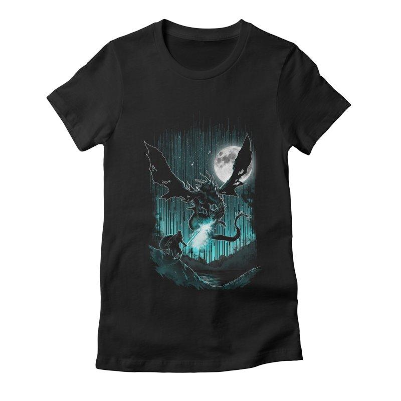 MEET THE MYTH Women's Fitted T-Shirt by silenTOP Artist Shop