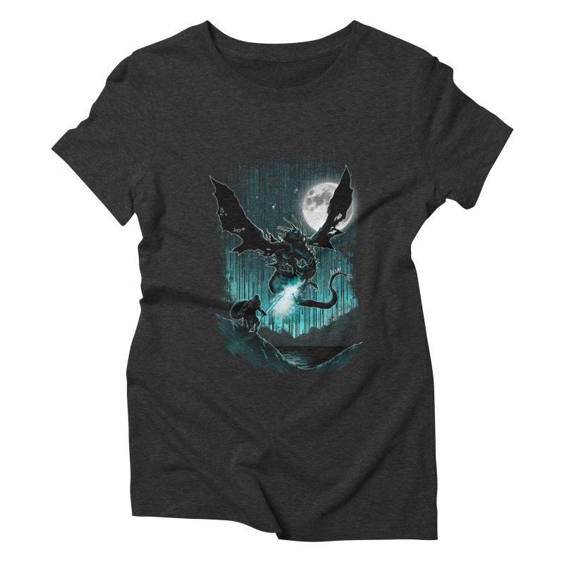MEET THE MYTH Women's Triblend T-Shirt by silenTOP Artist Shop