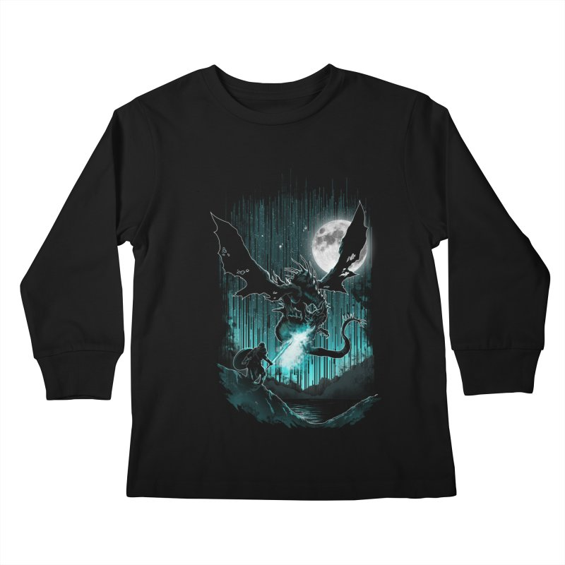 MEET THE MYTH Kids Longsleeve T-Shirt by silenTOP Artist Shop