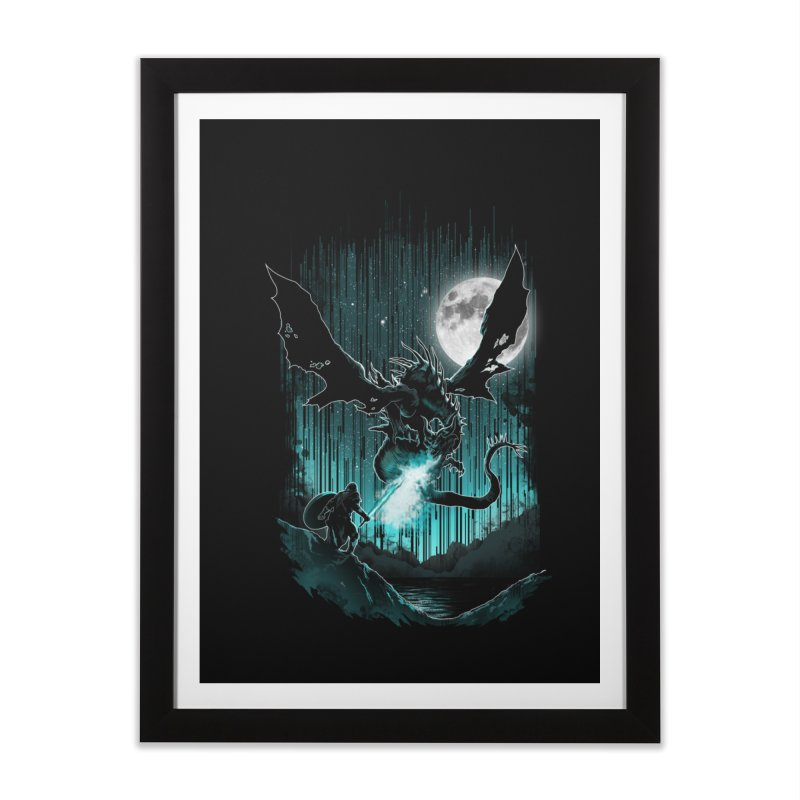 MEET THE MYTH Home Framed Fine Art Print by silenTOP Artist Shop