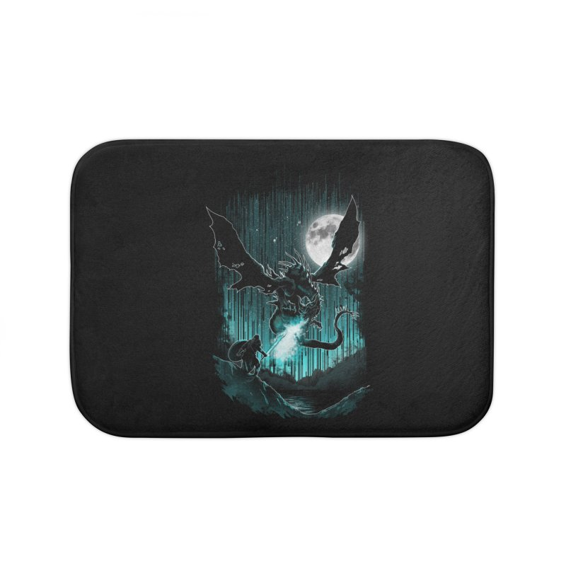 MEET THE MYTH Home Bath Mat by silenTOP Artist Shop