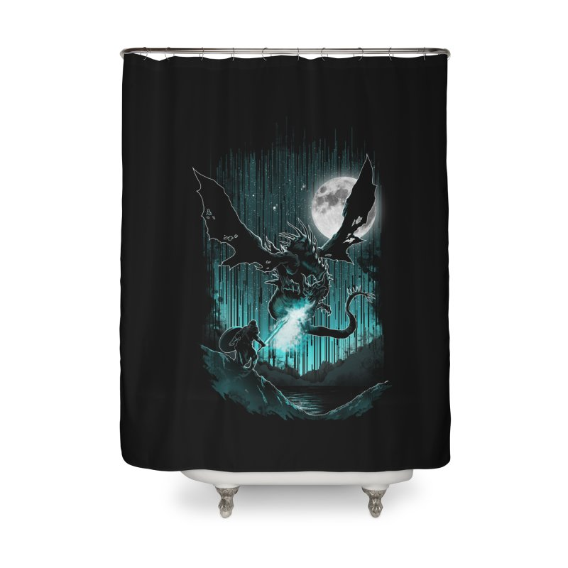 MEET THE MYTH Home Shower Curtain by silenTOP Artist Shop