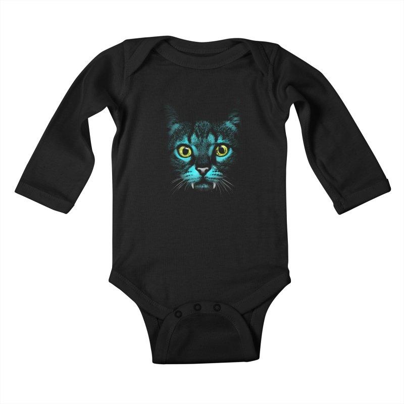 HYPNOTIST Kids Baby Longsleeve Bodysuit by silenTOP Artist Shop