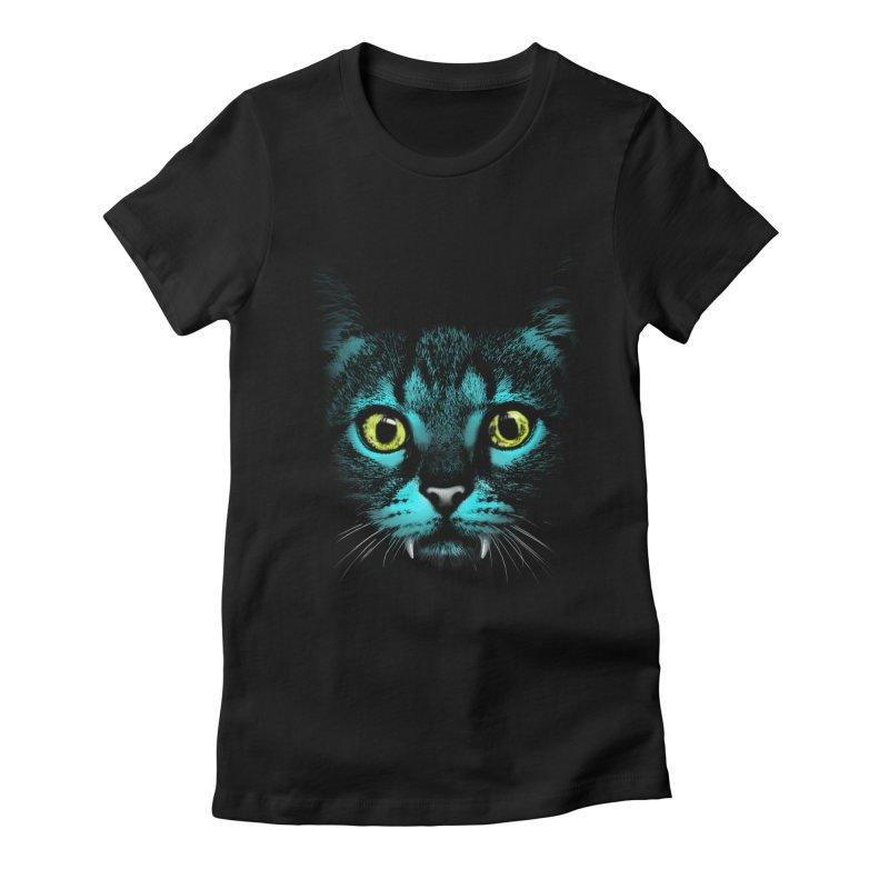 HYPNOTIST Women's Fitted T-Shirt by silenTOP Artist Shop