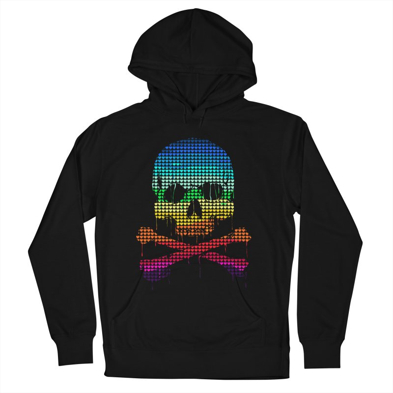 DEADLY IN LOVE WITH COLORS Women's Pullover Hoody by silenTOP Artist Shop