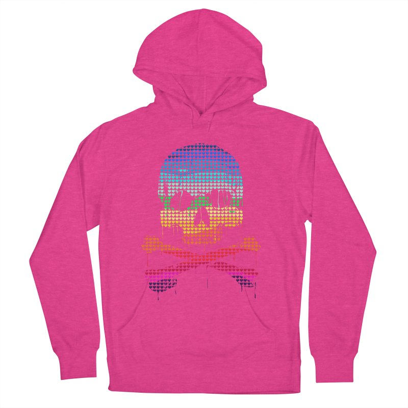 DEADLY IN LOVE WITH COLORS Men's Pullover Hoody by silenTOP Artist Shop