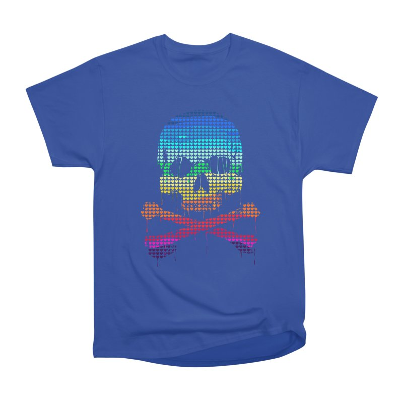 DEADLY IN LOVE WITH COLORS Women's Heavyweight Unisex T-Shirt by silenTOP Artist Shop