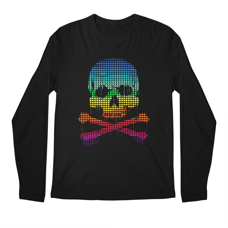 DEADLY IN LOVE WITH COLORS Men's Longsleeve T-Shirt by silenTOP Artist Shop
