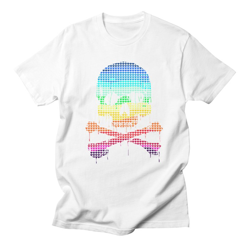 DEADLY IN LOVE WITH COLORS Women's Unisex T-Shirt by silenTOP Artist Shop