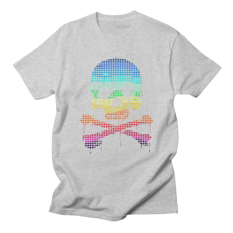 DEADLY IN LOVE WITH COLORS Men's T-Shirt by silenTOP Artist Shop