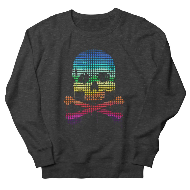 DEADLY IN LOVE WITH COLORS Women's Sweatshirt by silenTOP Artist Shop