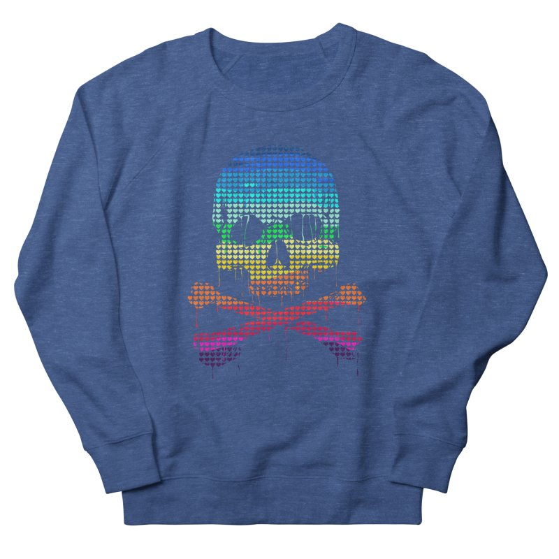 DEADLY IN LOVE WITH COLORS Men's Sweatshirt by silenTOP Artist Shop