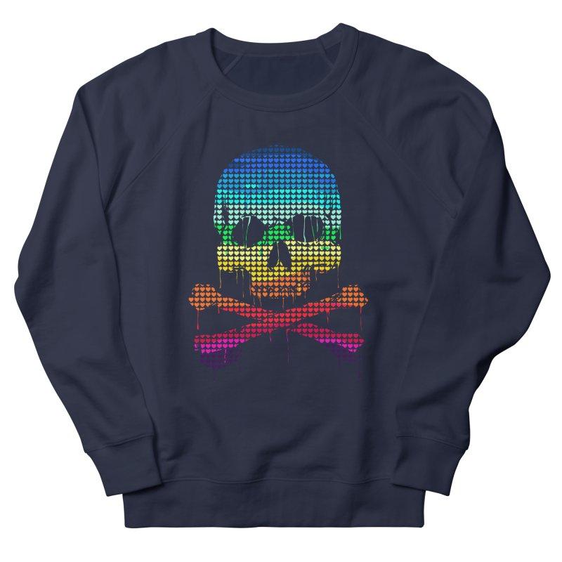 DEADLY IN LOVE WITH COLORS Men's Sweatshirt by silenTOP Artist Shop