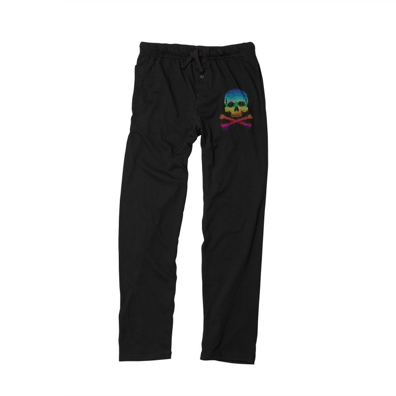 DEADLY IN LOVE WITH COLORS Men's Lounge Pants by silenTOP Artist Shop