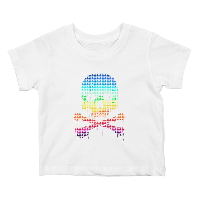 DEADLY IN LOVE WITH COLORS Kids Baby T-Shirt by silenTOP Artist Shop