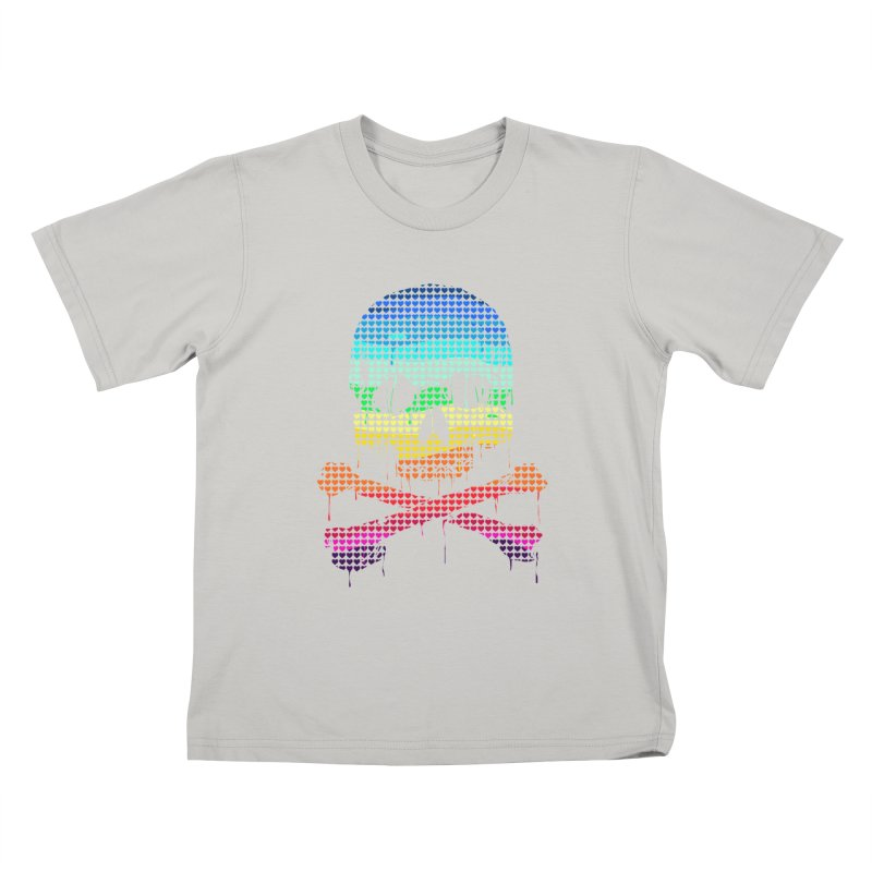 DEADLY IN LOVE WITH COLORS Kids T-Shirt by silenTOP Artist Shop