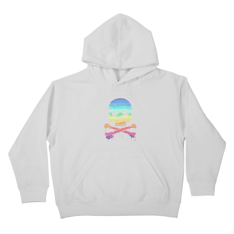DEADLY IN LOVE WITH COLORS Kids Pullover Hoody by silenTOP Artist Shop