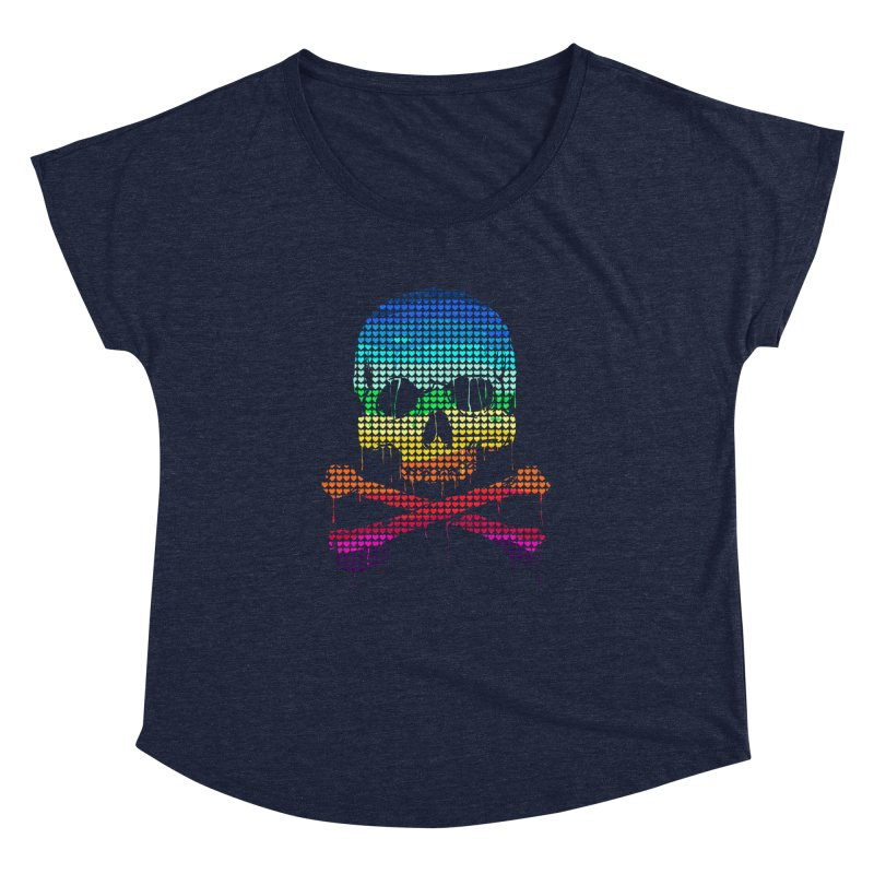 DEADLY IN LOVE WITH COLORS Women's Dolman by silenTOP Artist Shop