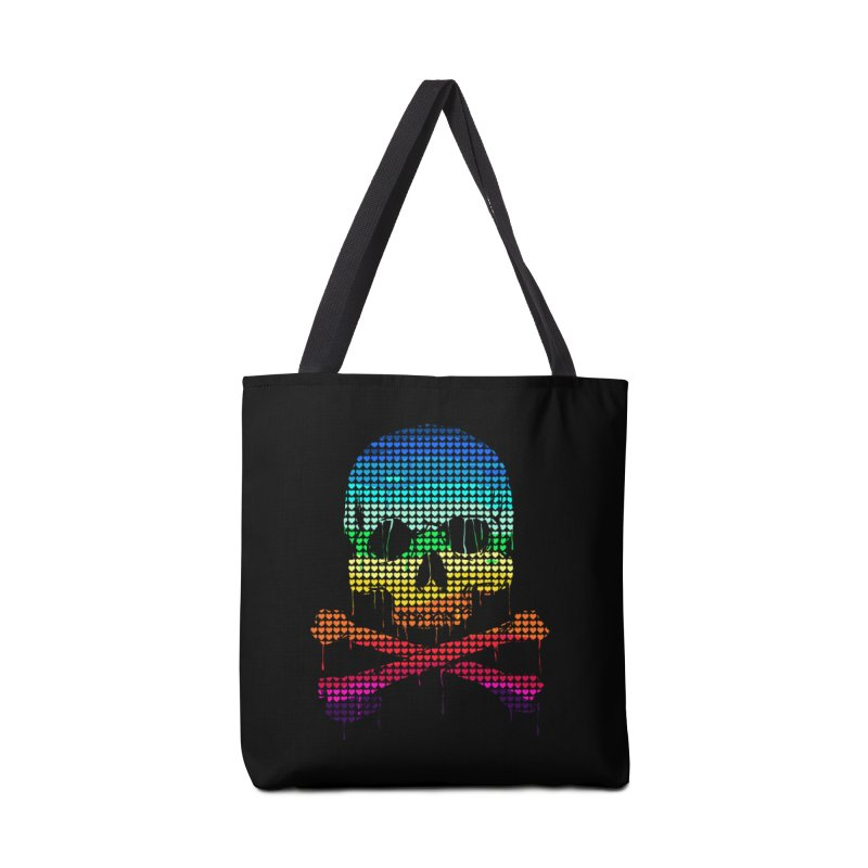 DEADLY IN LOVE WITH COLORS Accessories Bag by silenTOP Artist Shop