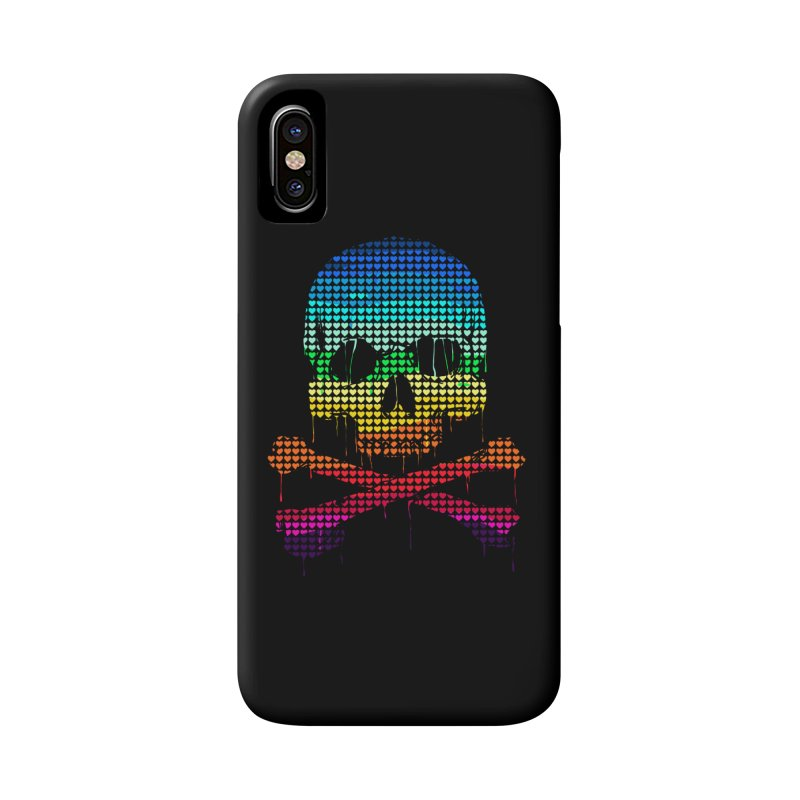 DEADLY IN LOVE WITH COLORS Accessories Phone Case by silenTOP Artist Shop