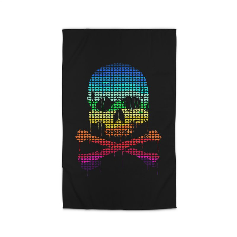 DEADLY IN LOVE WITH COLORS Home Rug by silenTOP Artist Shop