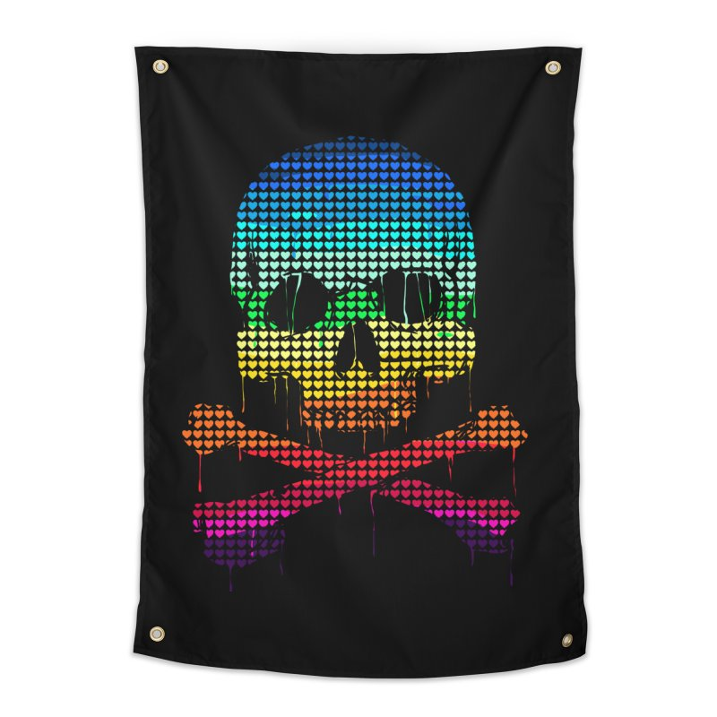 DEADLY IN LOVE WITH COLORS Home Tapestry by silenTOP Artist Shop