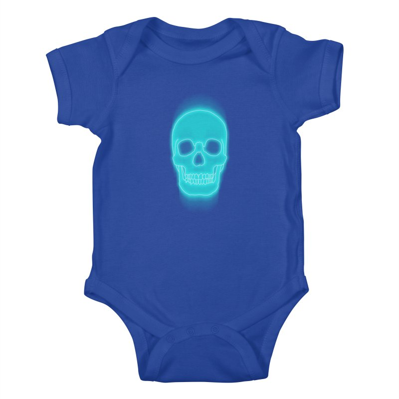 THE BLUR Kids Baby Bodysuit by silenTOP Artist Shop