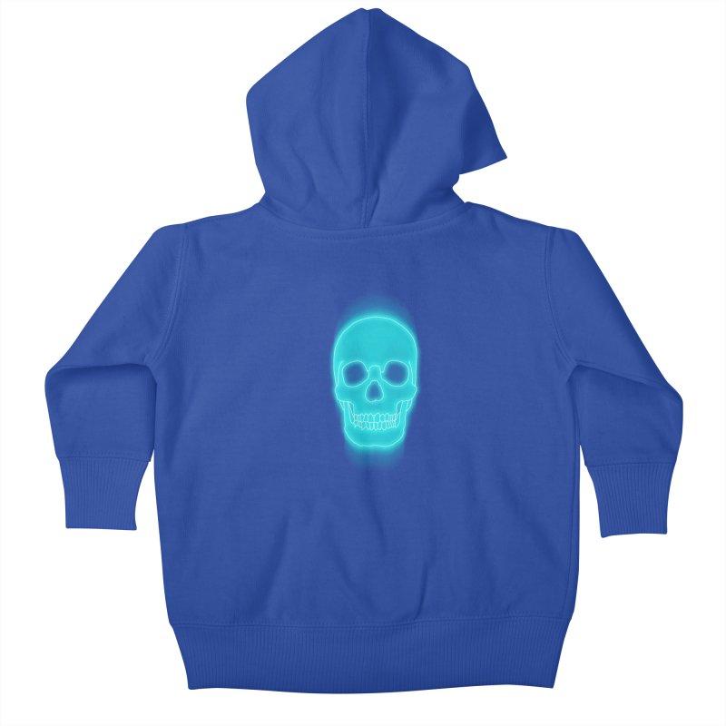 THE BLUR Kids Baby Zip-Up Hoody by silenTOP Artist Shop
