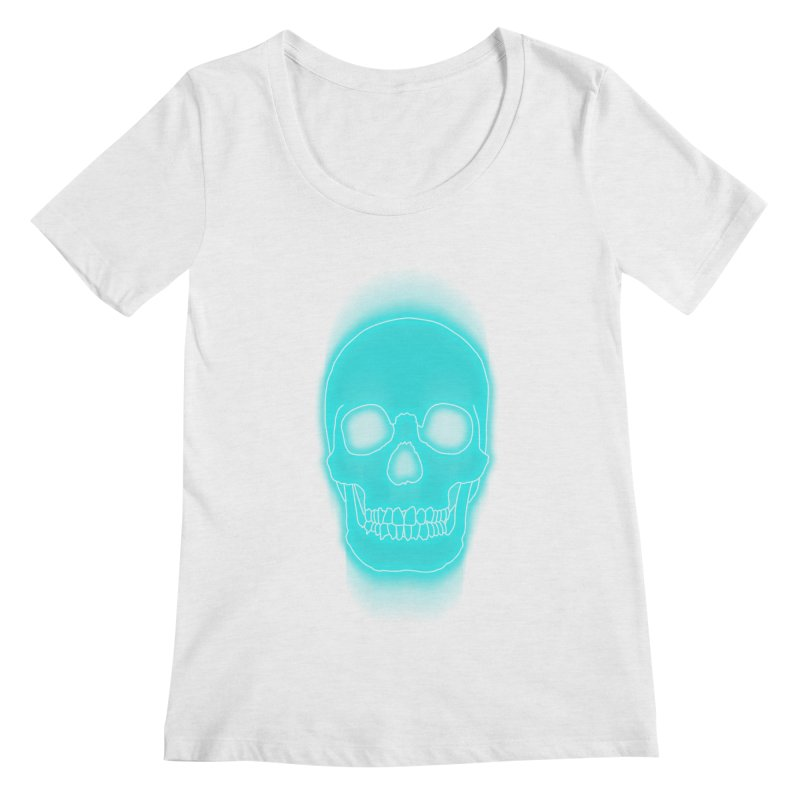 THE BLUR Women's Scoopneck by silenTOP Artist Shop