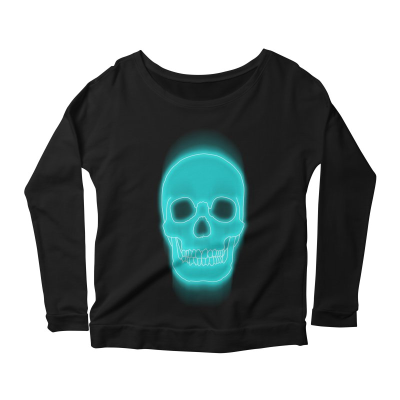 THE BLUR Women's Longsleeve Scoopneck  by silenTOP Artist Shop