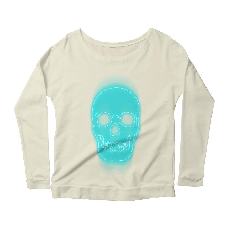 THE BLUR Women's Scoop Neck Longsleeve T-Shirt by silenTOP Artist Shop