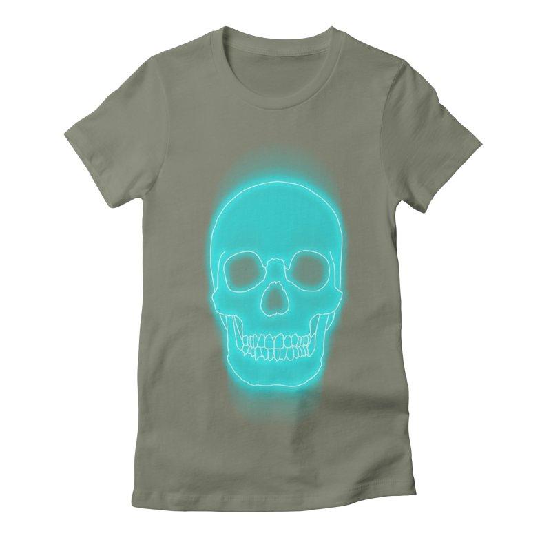 THE BLUR Women's Fitted T-Shirt by silenTOP Artist Shop