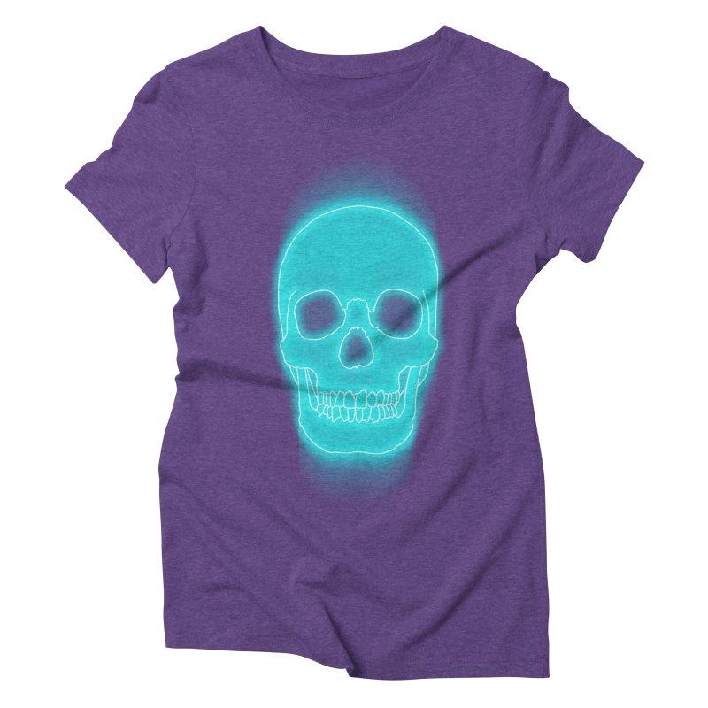 THE BLUR Women's Triblend T-Shirt by silenTOP Artist Shop