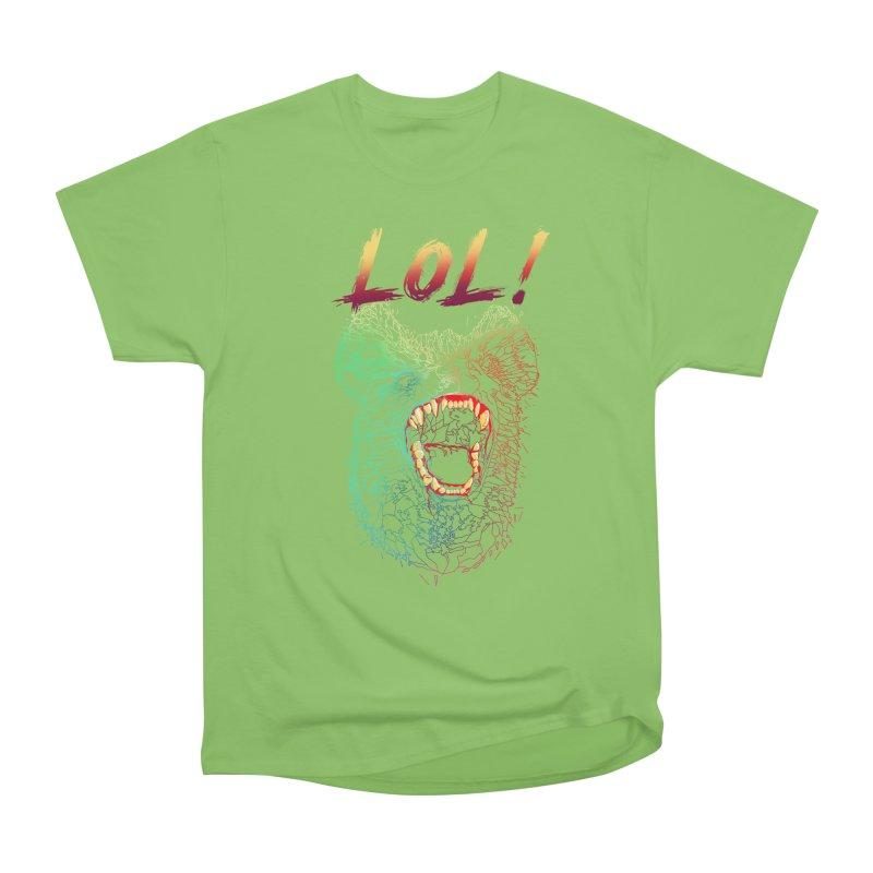 LOL! Men's Heavyweight T-Shirt by silenTOP Artist Shop