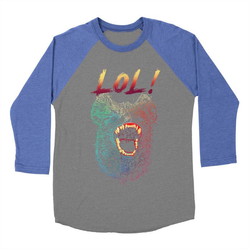 LOL! Men's Baseball Triblend T-Shirt by silenTOP Artist Shop