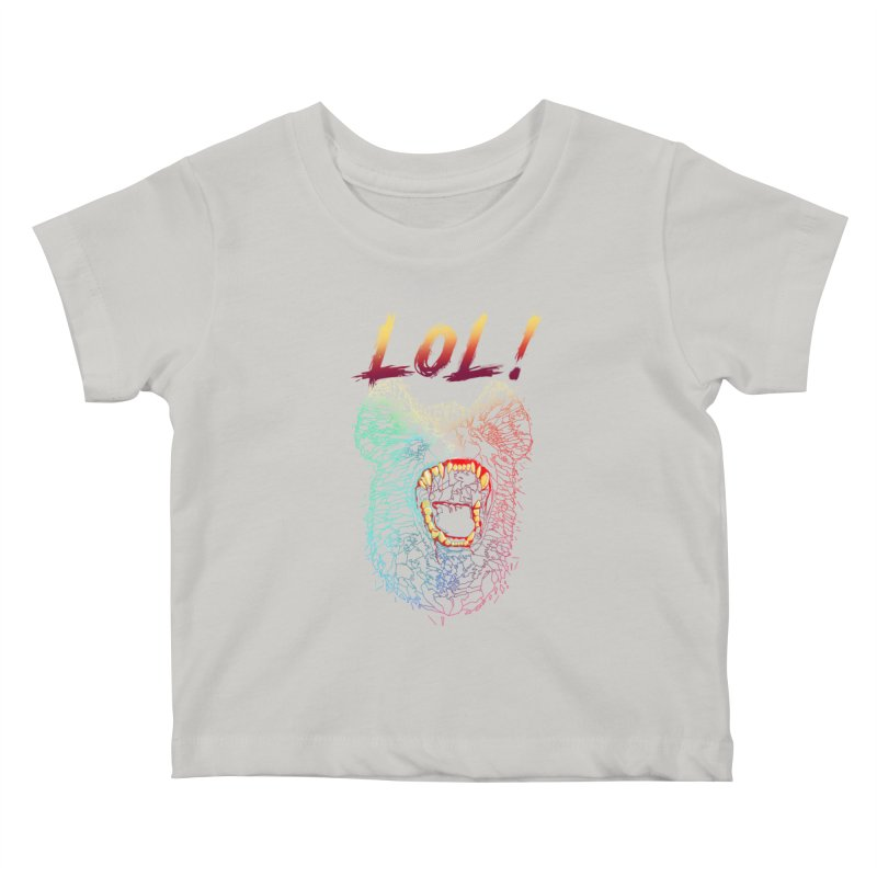 LOL! Kids Baby T-Shirt by silenTOP Artist Shop