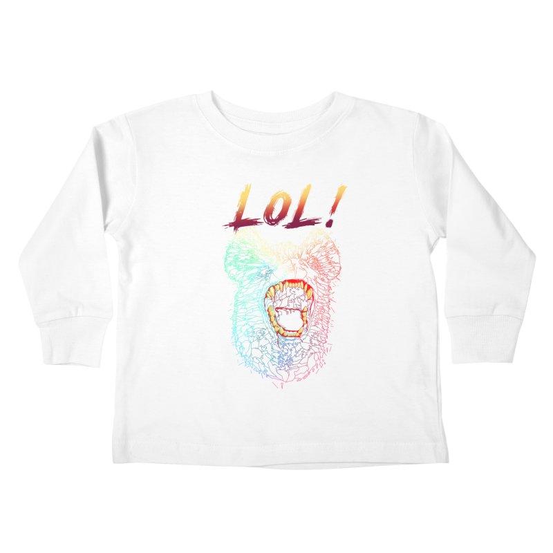 LOL! Kids Toddler Longsleeve T-Shirt by silenTOP Artist Shop