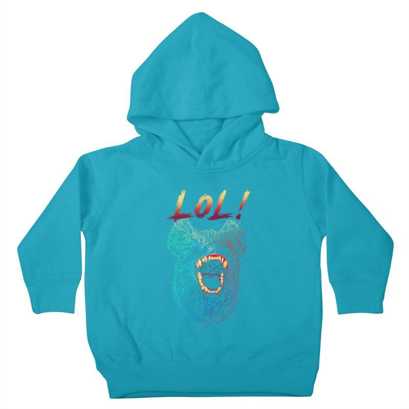 LOL! Kids Toddler Pullover Hoody by silenTOP Artist Shop