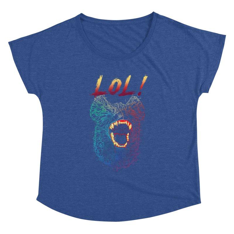 LOL! Women's Dolman Scoop Neck by silenTOP Artist Shop