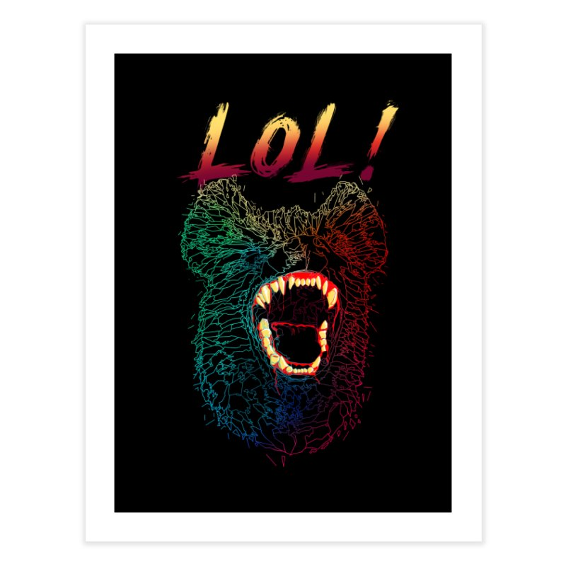 LOL! Home Fine Art Print by silenTOP Artist Shop